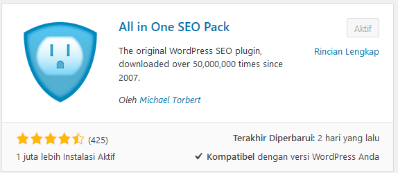 Cara Memaksimalkan Plugins All In One SEO Pack